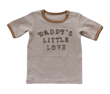 Daddy's Little Love Tee | Piper Bug