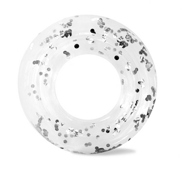Confetti Ring Float - Silver | Minnidip