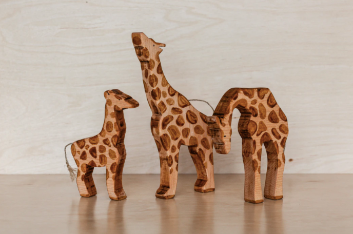 Giraffe Family | The Woodlands Toys