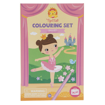 Tiger Tribe | Colouring Set - Ballet