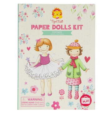 Tiger Tribe | Paper Dolls Kit