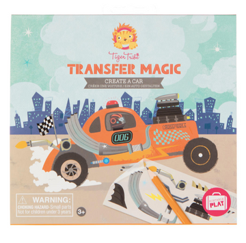 Tiger Tribe | Transfer Magic Create a Car