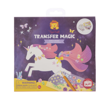 Tiger Tribe | Transfer Magic Unicorn