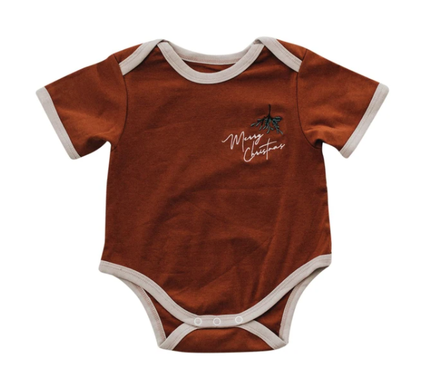 Merry Christmas Romper/Tee | Piper Bug