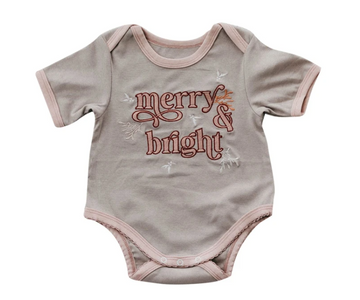 Merry & Bright Romper/Tee | Piper Bug