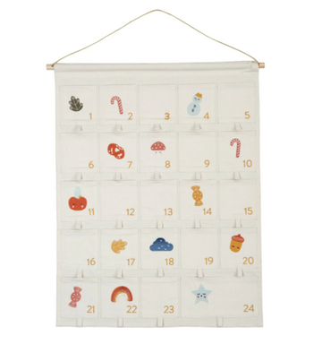Wall Calendar Embroidered | Fabelab