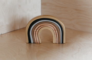 Wooden Stacking Rainbow, Desert | The Woodlands Toys