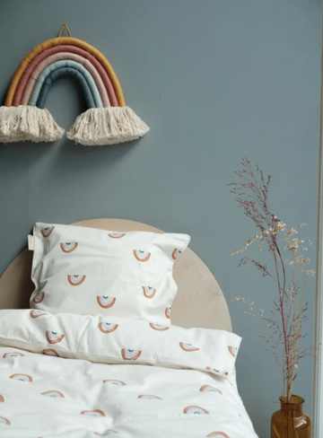 Rainbow Bedding, King Single | Fabelab