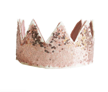 Alimrose | Sequin Rose Crown