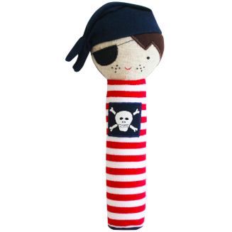 Linen Pirate Squeaker | Alimrose - Little Lights Co.