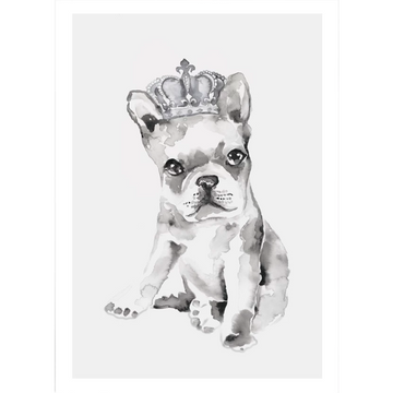 Pug King A4 | Leden | Little Lights Co.