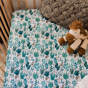 Snuggle Hunny Kids | Fitted Cot Sheet - Arizona | Little Lights Co.