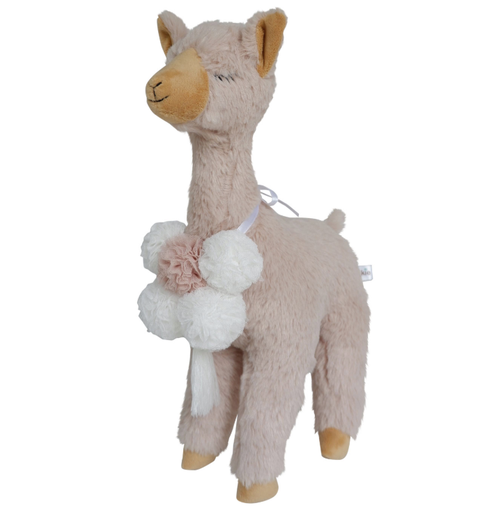 Lala Llama Beige | Spinkie | Little Lights Co.