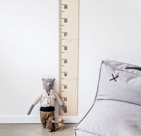 Wooden Height Chart | Crystal Ashley | Little Lights Co.