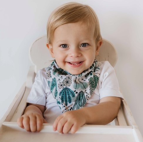 Arizona Dribble Bib | Snuggle Hunny Kids | Little Lights Co.