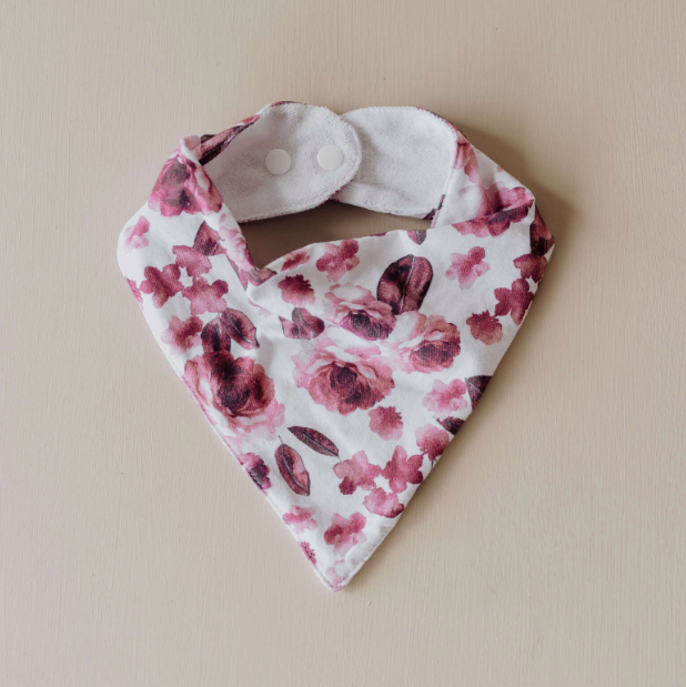 Fleur Dribble Bib | Snuggle Hunny Kids | Little Lights Co.