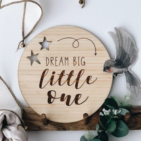 Dream Big Little One | Funny Bunny Kids | Little Lights Co.