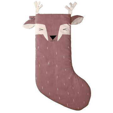 Christmas Stocking - Sleepy Deer | Fabelab | Little Lights Co.