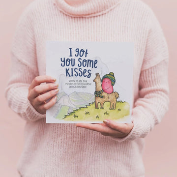 I Got You Some Kisses Paperback | Little Lights Co.
