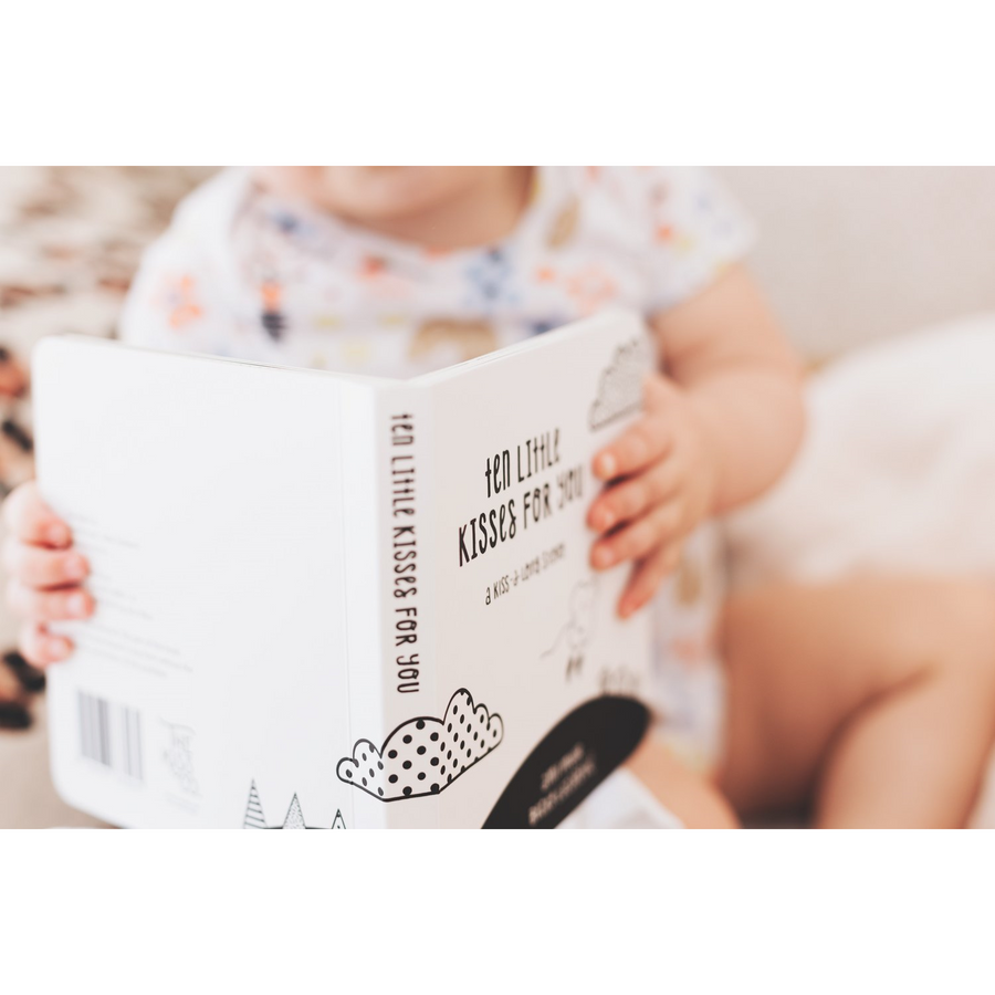 Ten Little Kisses For You - Board book | Little Lights Co.
