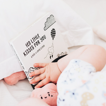 The Kiss Co | Ten Little Kisses For You - Board book - Little Lights Co.