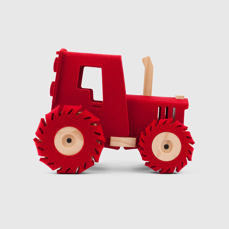 The Big Red Tractor | Woolkin | Little Lights Co.