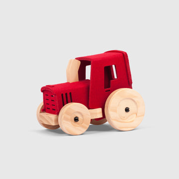 The Mighty Mini Tractor | Woolkin | Little Lights Co.