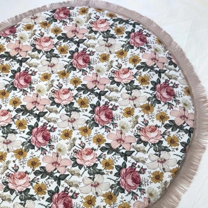 Luxe Aurora Vintage Floral Playmat | Miss Angel Ilaria | Little Lights Co.