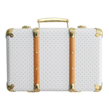 Vintage Style Suitcase - Sage Spot | Alimrose | Little Lights Co.