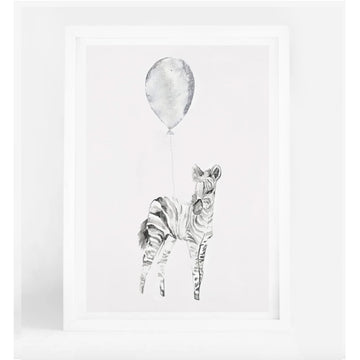Baby Zebra A4 | Leden | Little Lights Co.