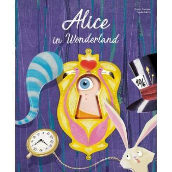 Alice in Wonderland Die-Cut Book | Sassi Junior | Little Lights Co.