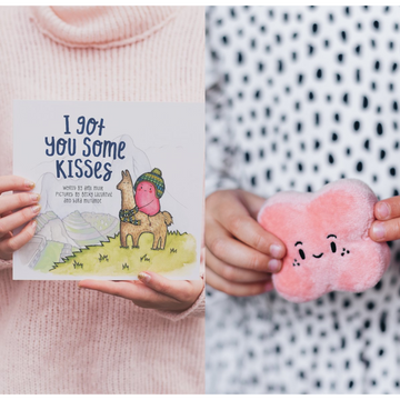 Kisses Book + Hide & Seek Game | Little Lights Co.