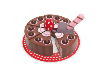 Wooden Chocolate Gateau | Le Toy Van | Little Lights Co.