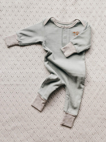 Simplicity Romper, Forest | Piper Bug | Little Lights Co.