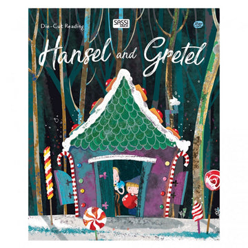 Hansel And Gretel Die-Cut Book | Sassi Junior | Little Lights Co.