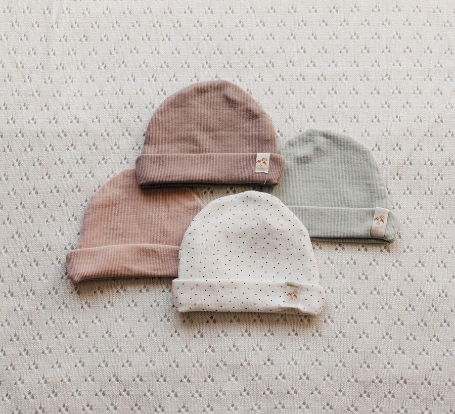 Simplicity Freshie Hat, Snow Dotty | Piper Bug | Little Lights Co.