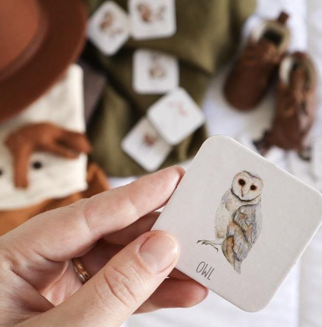 Modern Monty | Memory Card Game - Woodland