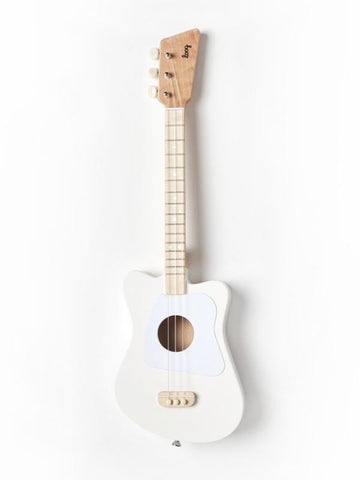 White Mini Guitar | Loog | Little Lights Co.