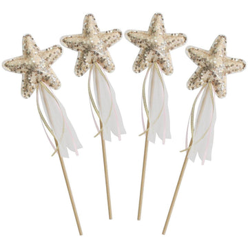 Alimrose | Star Wand - gold sequin