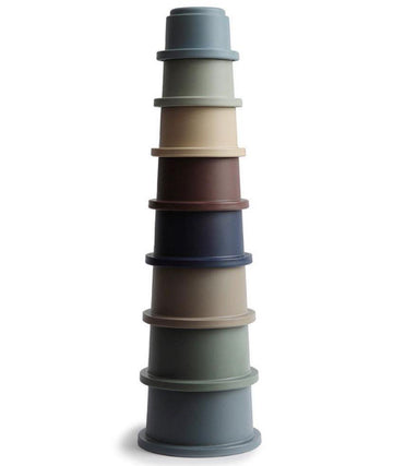 MUSHIE | STACKING CUP - FOREST | Little Lights Co.