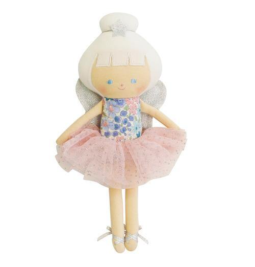 Alimrose | Baby Fairy Doll - Liberty Blue 25cm