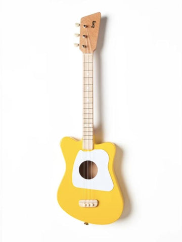 Yellow Mini Guitar | Loog | Little Lights Co.