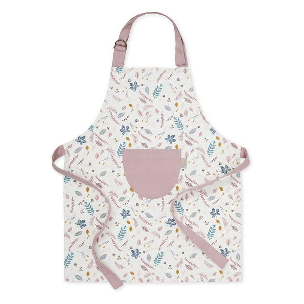 CAM CAM kids apron - pressed leaves rose - Little Lights Co.