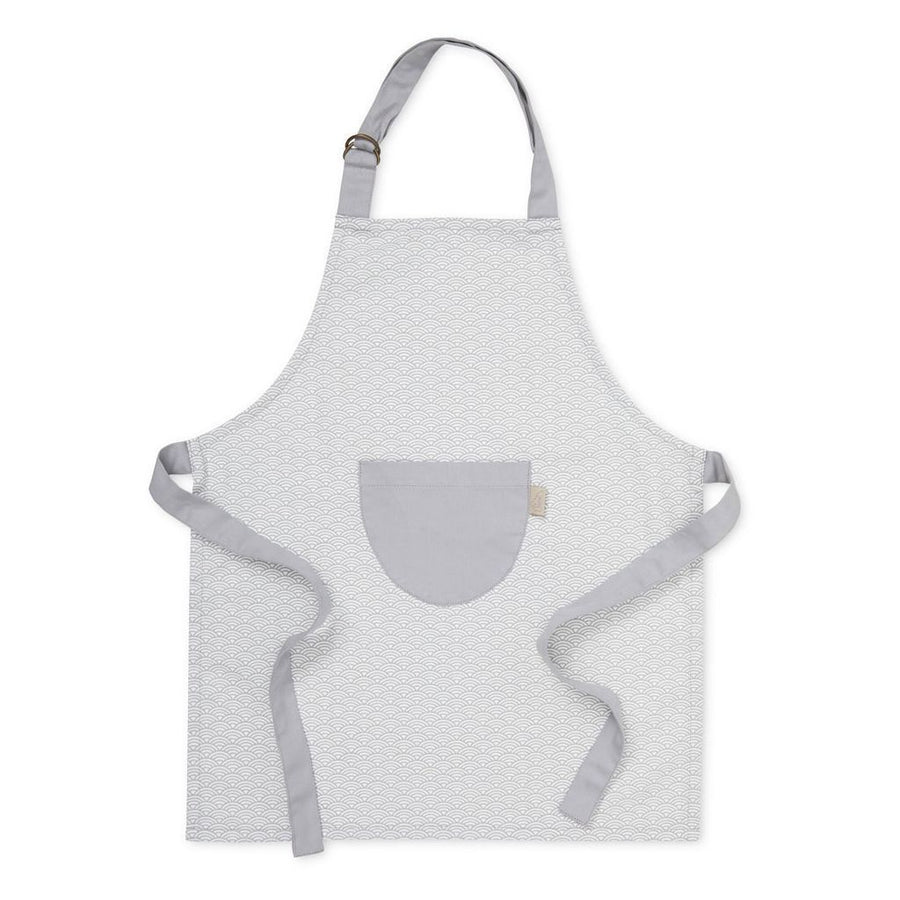 Kids apron - Grey Wave | Cam Cam | Little Lights Co.