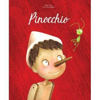 Pinocchio Die-Cut Book | Sassi Junior | Little Lights Co.