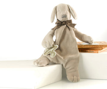 Paws the Puppy Comforter - Organic Dummy Holder (unboxed) | Maud n Lil | Little Lights Co.