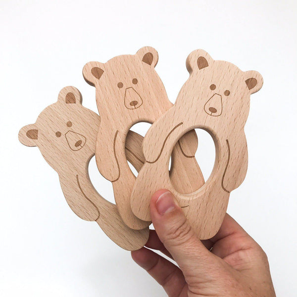 Exclusive Beech Wood Teethers