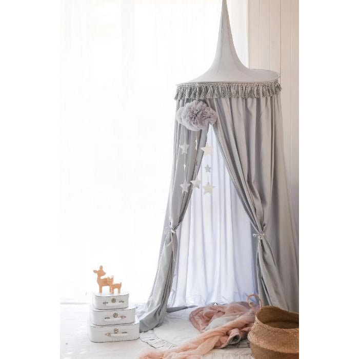Hope & Jade Canopy - Grey | Little Lights Co.