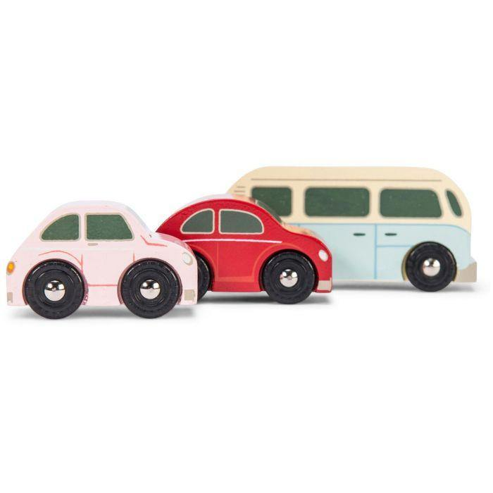Le Toy Van | Retro Metro Car Set | Little Lights Co.