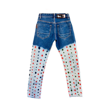 "Load image into Gallery viewer, STRAWBERRY SEED JEANS. 29"". RED."